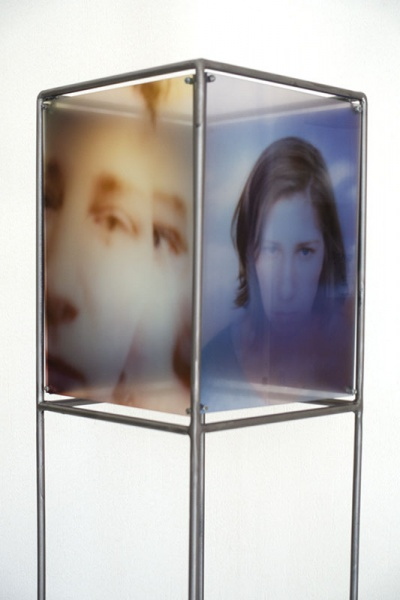 photographic installation Influences - thoughts tubien